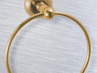 Cristal Et Bronze -  - Anneau Porte Serviette