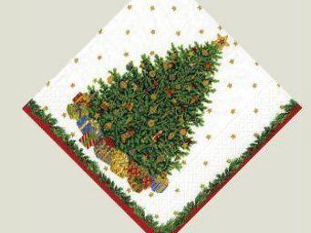 CASPARI -  - Serviette De Noël En Papier