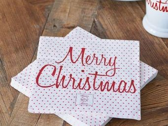 Riviera Maison -  - Serviette De Noël En Papier