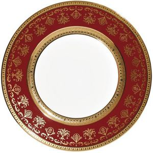 Raynaud - eugenie rouge - Assiette Plate