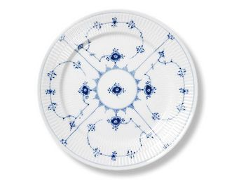 Royal Copenhagen - blue fluted plain - Assiette Plate