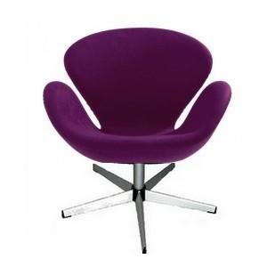 Mathi Design - chaise trefle - Chaise Pivotante