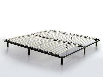 BELIANI - 180x200 cm - Sommier Fixe À Lattes