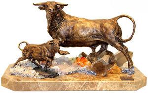Ebano -  - Sculpture Animalière