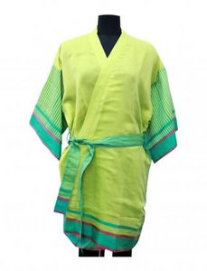 Abraham & Thakore - maheshwar kimono - Kimono