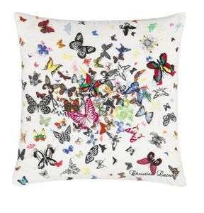 Christian Lacroix - butterfly parade opalin - Coussin Carré