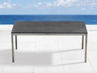 BELIANI - tables en granit - Table De Jardin