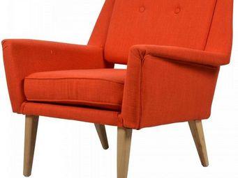 MyCreationDesign - clapton orange - Fauteuil Crapaud