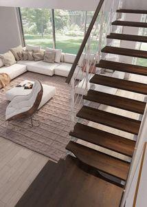 Rintal -  - Escalier Un Quart Tournant