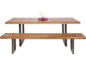 Kare Design - table factory bois 200x90 - Table Pique Nique