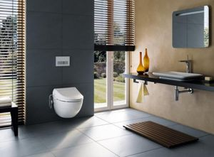 GEBERIT AQUACLEAN ALLIA - aquaclean 4000 - Wc Japonais
