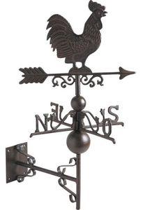 Aubry-Gaspard - girouette coq en fonte - Girouette