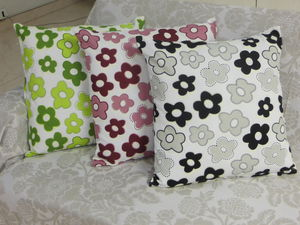 ITI  - Indian Textile Innovation - floral - Housse De Coussin