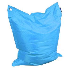 Cotton Wood - grand coussin uni maxi turquoise - Pouf D'extérieur