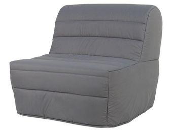 WHITE LABEL - fauteuil-lit bz matelas hr 90 cm - elia n°3 - l 91 - Banquette Bz