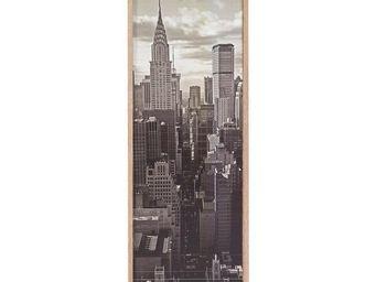 WHITE LABEL - classeur à rideaux bois - curtain n°1 - l 38 x l 3 - Armoire À Rideaux