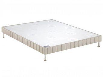 Bultex - bultex sommier double tapissier confort ferme pie - Sommier Fixe À Ressorts