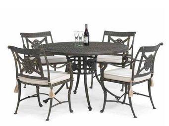 Oxley's - luxor - Table De Jardin Ronde