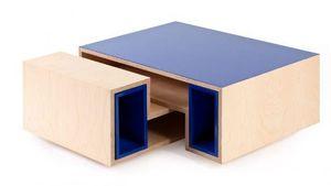 WOOPLY - sku méli mélo - Table Basse Forme Originale