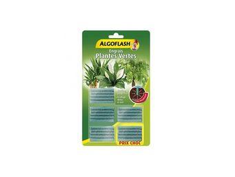 ALGOFLASH - batonnets engrais plantes vertes 20 + 5 gratuits a - Engrais