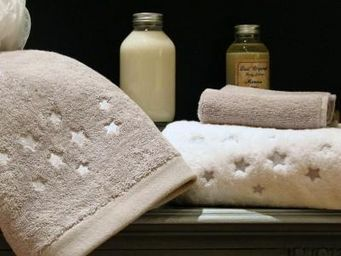 Liou - drap de bain brodé etoiles - Drap De Bain