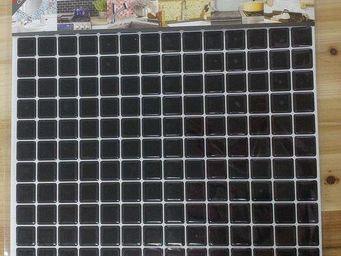 BEAUSTILE - mosaic noir brillant - Mosaique Adhésive