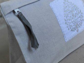 MAISON D'ETE - trousse de toilette louise gris paillette - Trousse De Toilette