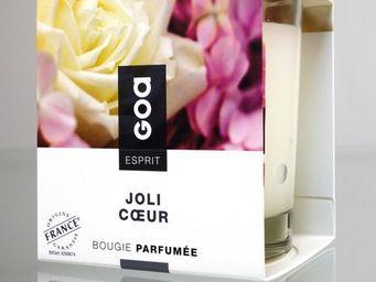 CLEM - bougie parfumée goa esprit joli coeur - Bougie