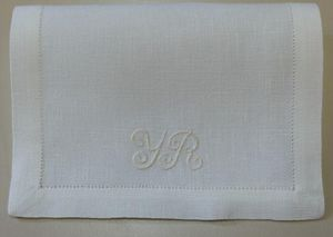 Noel - -monogramme - Serviette De Cocktail