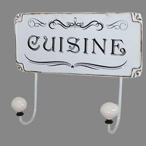 CHEMIN DE CAMPAGNE - patère crochet porte serviette de cuisine mural - Patère