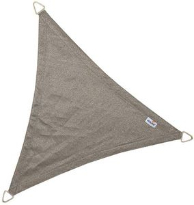 jardindeco - voile d'ombrage triangulaire coolfit anthracite 4 - Voile D'ombrage