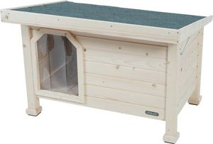 ZOLUX - niche en bois à toit plat - Niche