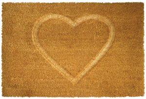 Aubry-Gaspard - paillasson en fibres de coco coeur thermopressé - Paillasson