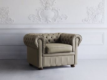 BELIANI - chesterfield - Fauteuil Chesterfield