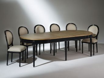 Robin des bois - florence - Table De Repas Ovale