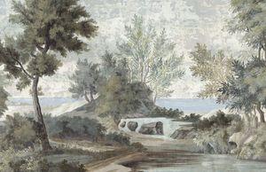 Ananbô - le chemin des demoiselles - Papier Peint Panoramique