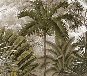 Ananbô - nicobar sépia - Papier Peint Panoramique