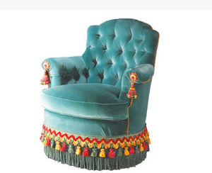 HENRYOT & CIE -  - Fauteuil Crapaud