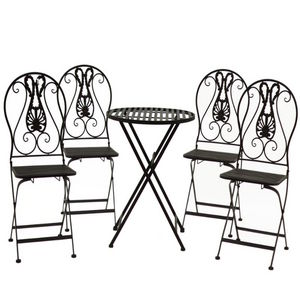L'ORIGINALE DECO - set 4 - Chaise De Jardin