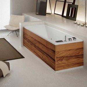 Grandform - bain slim edge air 170x70 hydromassage - blanc: poli - vers: droit - taps: sans - Baignoire Balnéo