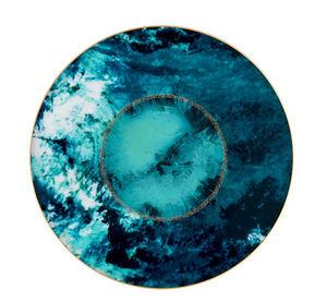 Haviland - ocean bleu - Assiette De Présentation