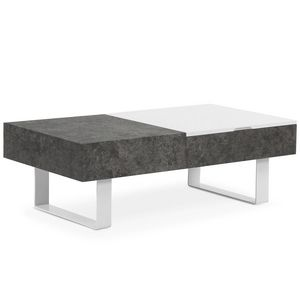 Menzzo - table basse relevable 1415057 - Table Basse Relevable