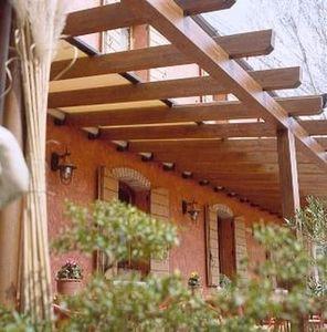 Holzgarden -  - Pergola Adossée