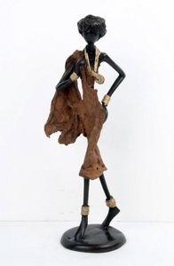 Bronzes d'Afrique - medium bronze - Sculpture