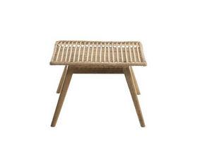 ROTIN ET OSIER - nany - Table Basse De Jardin