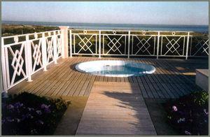 Les Menuisiers Du Jardin -  - Plancher De Terrasse