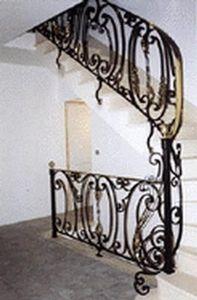 Daniel Menard -   - Rampe D'escalier