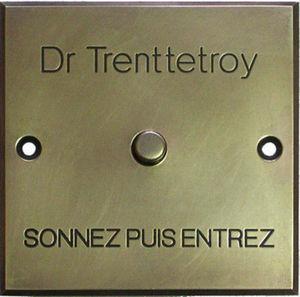 L'atelier D'argent -  - Bouton De Sonnette