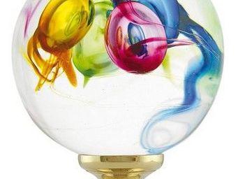 Les Verreries De Brehat - multicolore aléatoire - Boule D'escalier
