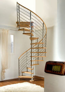 NOVALINEA - top inox - Escalier Hélicoïdal